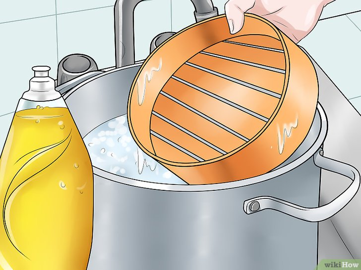 Imagen titulada Clean a Bamboo Steamer Step 3